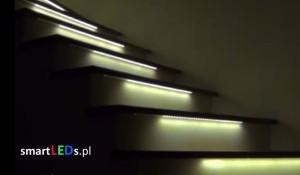 Animowane oświetlenie schodowe LED | smartLEDs