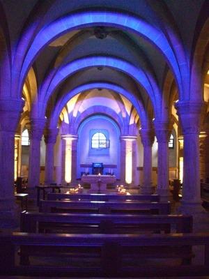 Sterowniki RGB. Oświetlenie dekoracyjne LED RGB. Detal w architekturze.