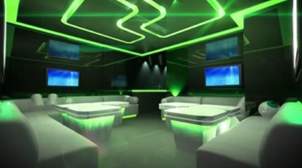 Sterownik RGB (kontroler, mikser) płynnej zmiany kolorów. Oświetlenie LED RGB. zielony