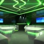 Sterownik RGB (kontroler, mikser) płynnej zmiany kolorów. Oświetlenie RGB. zielony