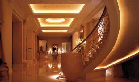 Oświetlenie LED wnętrza domu. Sterowniki LED.