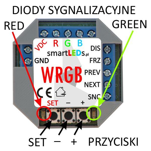 smartLEDs WRGB Programowalny sterownik RGB płynnej zmiany kolorów