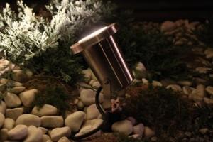 Oświetlenie ogrodowe - reflektor