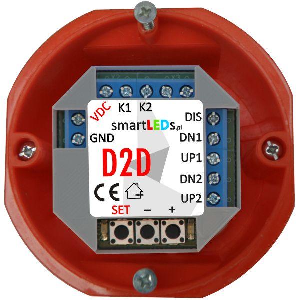 2-kanałowy ściemniacz LED smartLEDs D2D