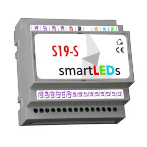 Inteligentny sterownik schodowy LED smartLEDs S19-S (STANDARD)