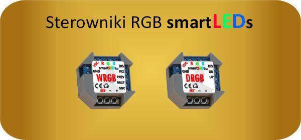 Inteligentne sterowniki  i ściemniacze RGB LED smartLEDs