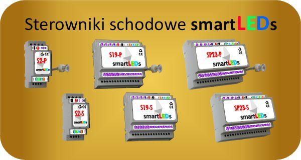 Inteligentne sterowniki schodowe smartLEDs