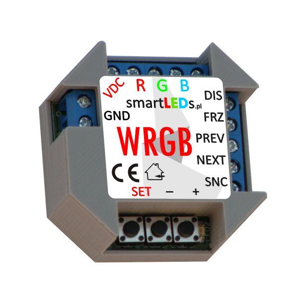 Inteligentny sterownik RGB płynnej zmiany kolorów - smartLEDs WRGB