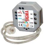 smartLEDs SIGMA - Moduł czasowy z sondą światła (wyłącznik czasowy, włącznik czasowy, przekaźnik czasowy, automat schodowy)