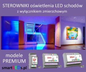 Inteligentne sterowniki schodowe LED Premium smartLEDs