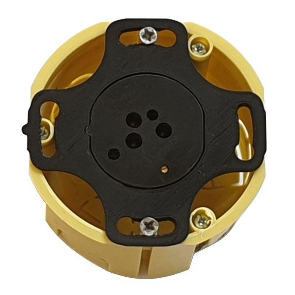 Adapter czujnika ruchu ALFA i DELTA smartLEDs do puszki fi60 (widok w puszce)