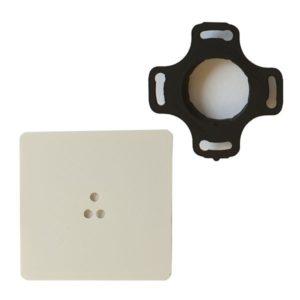 Adapter czujnika ruchu ALFA i DELTA smartLEDs do puszki fi60 (gniazdo adaptera + osłona adaptera)