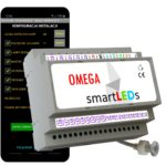 Sterownik oświetlenia LED schodów smartLEDs OMEGA Android Bluetooth