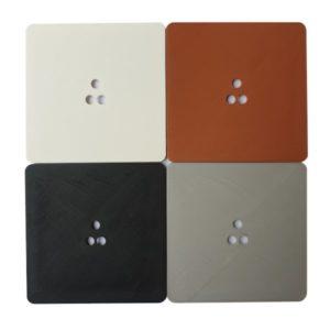 Adapter dopuszkowy do czujników ruchu smartLEDs ALFA lub DELTA. Różne kolory osłon: biały, brązowy, czarny, szary.