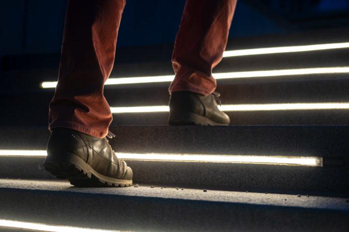 smartLEDs - Bezpieczne podświetlone LED schody