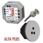 smartLEDs ALFA PLUS - Optyczny schodowy czujnik odległości i ruchu z modułem czasowym i sondą światła