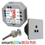 smartLEDs DELTA PLUS - Optyczny uniwersalny czujnik odległości i ruchu z modułem czasowym i sondą światła
