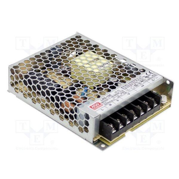Zasilacz LED Meanwell LRS-100-12 impulsowy modułowy napięciowy