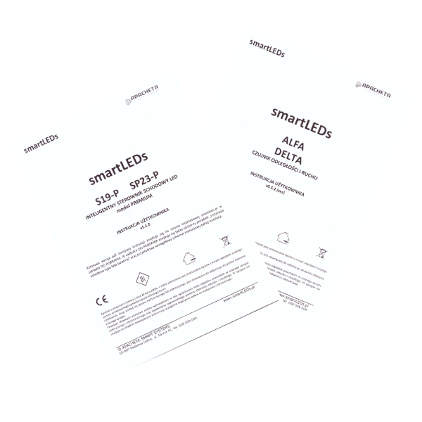 Instrukcje użytkownika - Zestaw schodowy S19-P i SP23-P (dokumentacja smartLEDs)