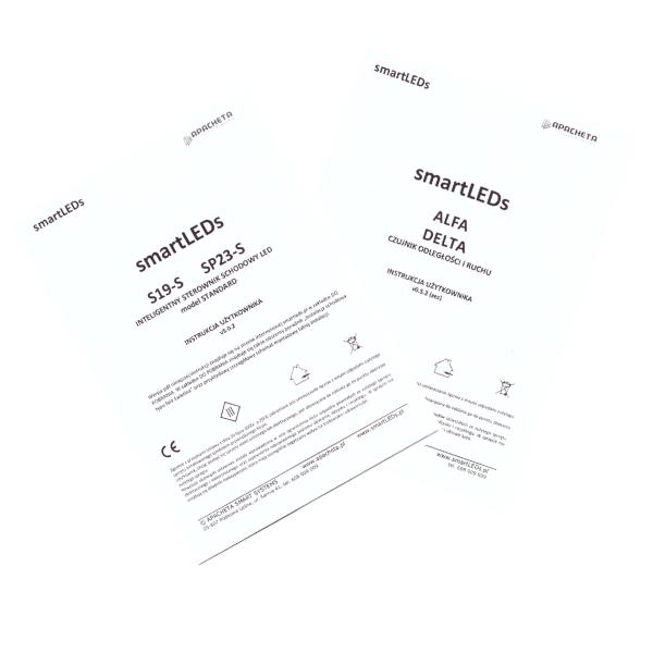 Instrukcje użytkownika - Zestaw schodowy S19-S i SP23-S (dokumentacja smartLEDs)