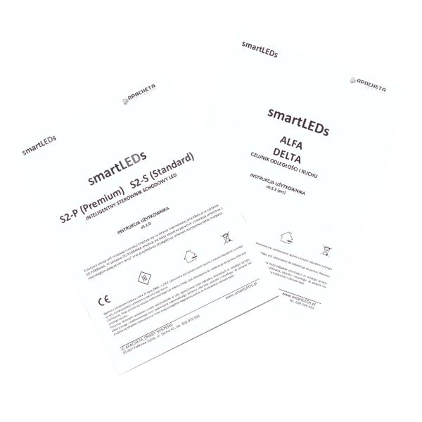 Instrukcje użytkownika - Zestaw schodowy S2-P i S2-S (dokumentacja smartLEDs)