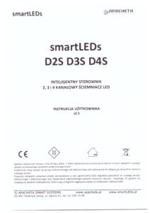 Instrukcja użytkownika - Wielokanałowe ściemniacze oświetlenia LED - smartLEDs D2S, D3S, D4S