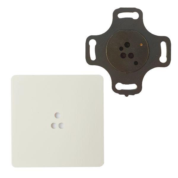 Adapter do puszek elektrycznych fi 60mm czujników ruchu ALFA i DELTA smartLEDs - kolor biały